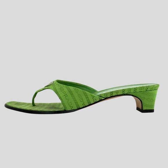 prada canvas sandals